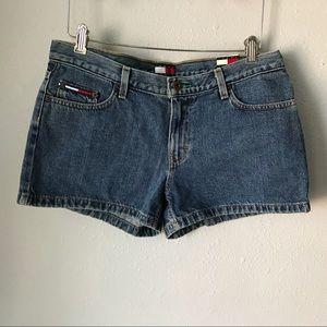 Tommy Hilfiger deadstock jean shorts